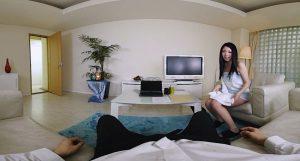 【素人】ハメ潮ダダ漏らし!営業マンを自宅に連れ込み誘惑SEX-桜咲姫莉1