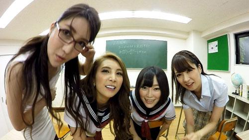 【一条リオン】学校で集団痴女プレイ!1