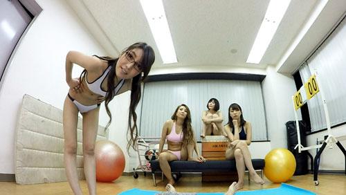 【一条リオン】エロブルマー痴女トレーニングSEX!1