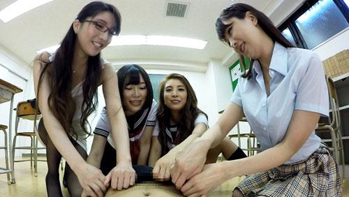 【一条リオン】学校で集団痴女プレイ!2