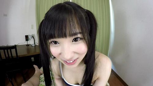 【栄川乃亜】キス!きす!KISS!ちゅ~大好きっ!!スク水・乃亜ちゃんのツンデレ尻手コキ3