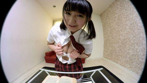 【浅田結梨】見つめられる幸せ!巨乳女子校生の誘惑おねだりエッチ「センパイ…勉強よりも、もっといい事しよっ」2