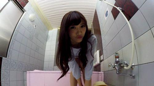 【小峰みこ】お風呂場で色んなことしてみました1