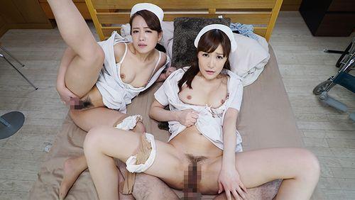 【小峰みこ】癒らしナースとベロチュウ密着中出しSEX3