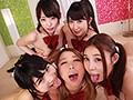 【夏樹まりな】私立レズれ!学園 7Pレズ乱交!3