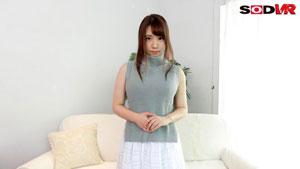 【VR】史上初!VRでデビュー VRでしか見ることができない新人女優!SODVR専属天然Hカップ 香坂紗梨 AV debut2